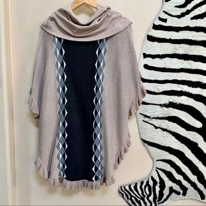 JOSEPH A Women's Sweater Poncho size 2X